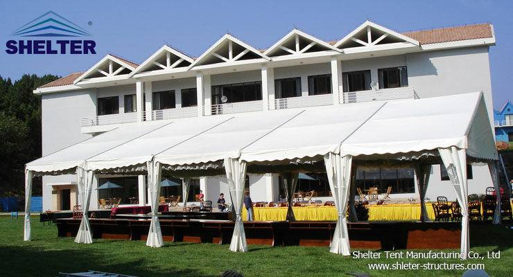 Shelter Wedding Tent-Outdoor Wedding Venue-Catering Tent