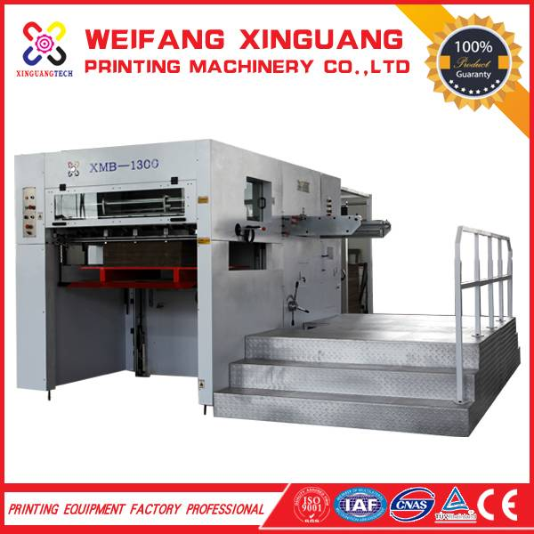 XMB-1300  The semi automatic manual die cutting machine for sales