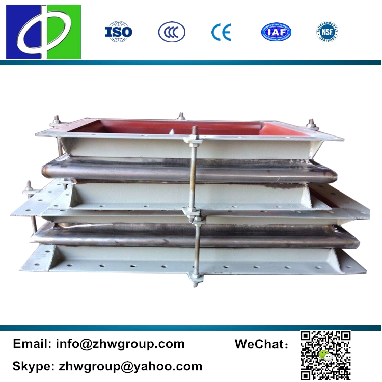 Reinforced bellows expansion joint rectangular expansion bellow