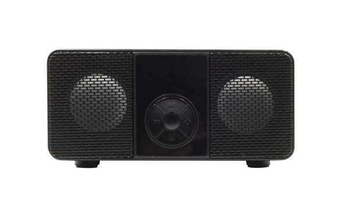 Shenzhen factory SOMHO/OEM loud sound bluetooth speaker with mini microphone