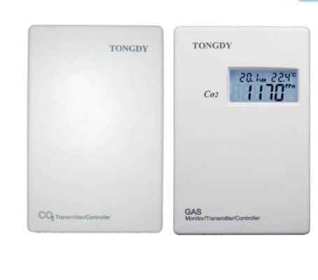lab /warehouse use CO2 transmitter G01-CO2-B series for RH/CO2 /temp detect
