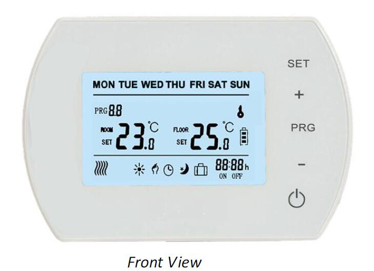 Programmable(5+1+1)Touch Screen LCD Wired Thermostat