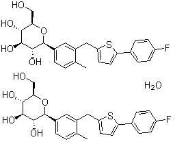 Canagliflozin hemihydrate