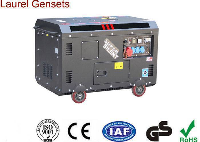 High Performance 3kva - 10kva Portable Small Super Quiet Diesel Generator