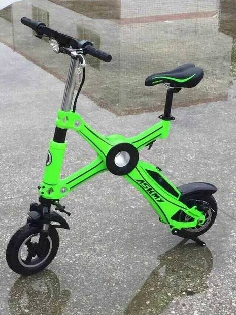 Mini 2 wheel portable folding electric bike X1/ foldable e-bike/ electric pocket bike