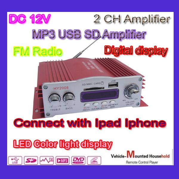 2014 Hot Sale High Power Car Amplifier