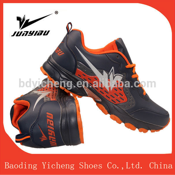 fancy wedge sneakers men running sport shoe for running