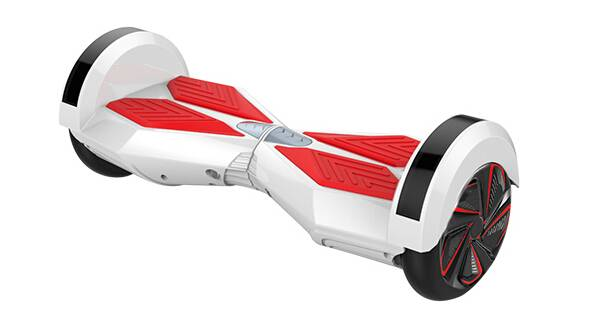8 inch smart balance scooter   white color