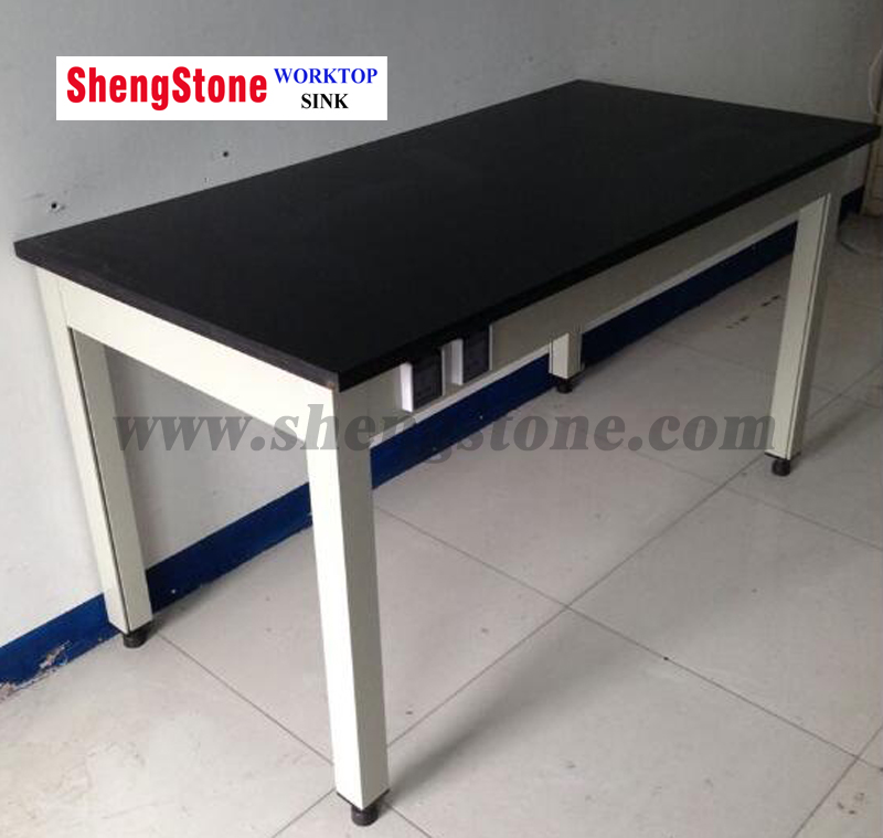 Laboratory Worktop with Simple Structure-Phenolic Island Worktop