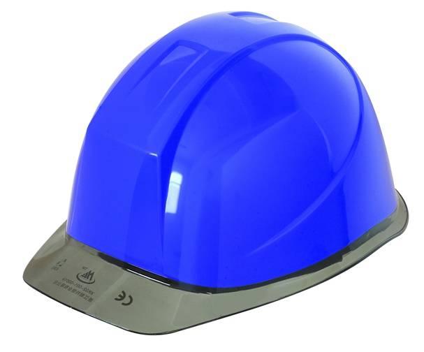 Safety Helmet with Transparent Visor