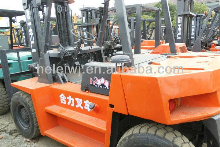 USED FORKLIFT HELI CPCD80
