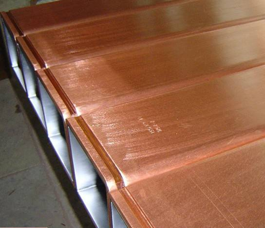 Crystallizer copper tube  for CCM