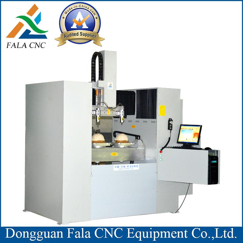 XFL-W450 5 Axis CNC Helmet Engarving Machine CNC Router