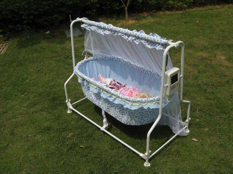 (hot sell)electric multifunctional infant/baby cradle with remote control