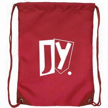 210D Polyester Drawstring Bag,