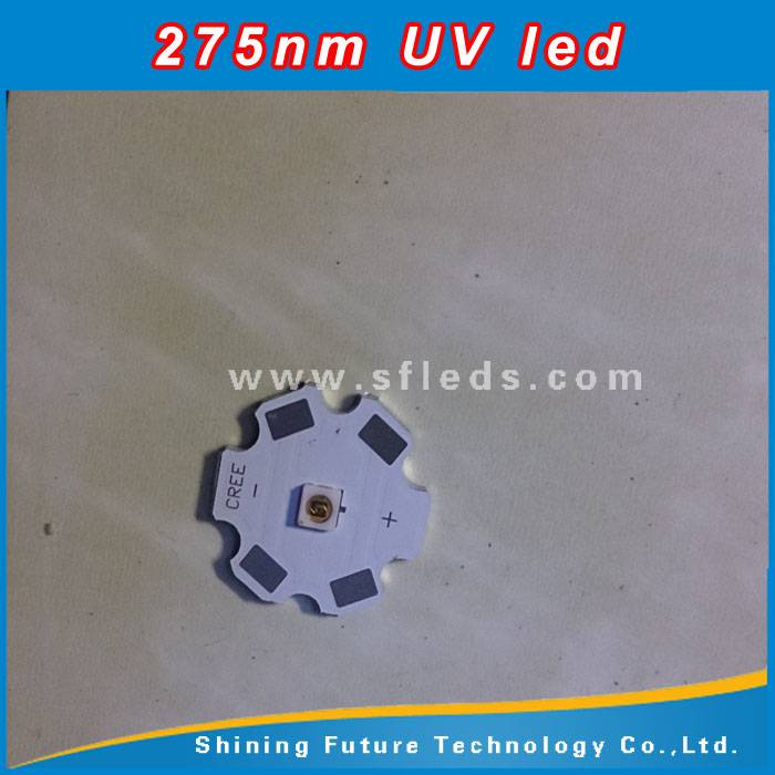 Deep 254nm 265nm 275nm 280nm uv led for disinfection