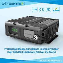 5 Channels SD Card Mobile DVR Streamax M1-SH0401 with GPS, 3G/4G/WIFI