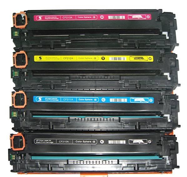 HP 131A Black Compatible Laserjet Toner Cartridge CF210A CF211A CF212A CF213A CF210X