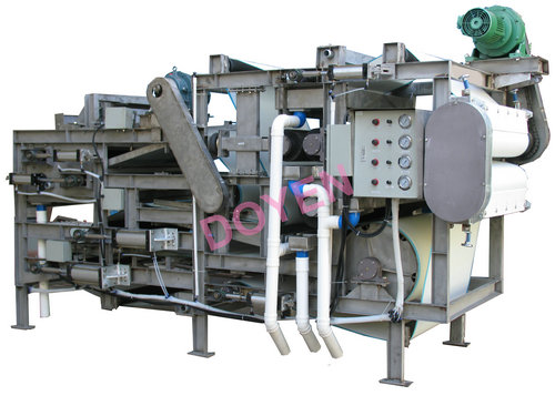 Stainless steel belt press sewage treatment equipment