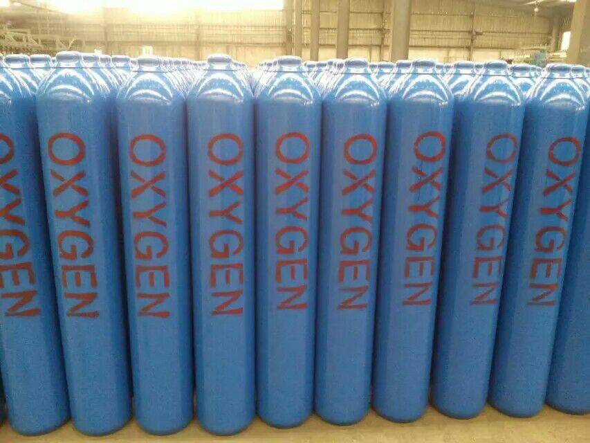 High Pressure Seamless Steel Gas Cylinder Factory Direct Sale