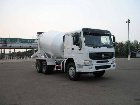 2.6m³ 3m³ 6m³ Truck-mounted Concrete Mixer