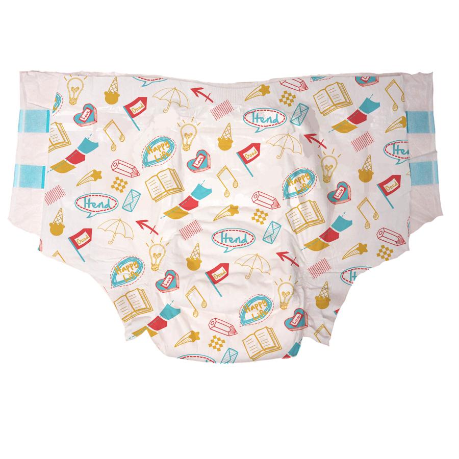 OEM Disposable Super Absorption Baby Print Abdl Adult Diaper for Senior/Elderly/Old People