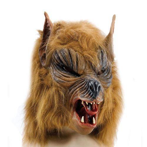 Youtumall Ferocious Fangs Latex Werewolf Mask Costume