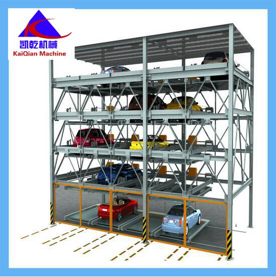 automobile parking system 1800kgs lift-sliding parking garage