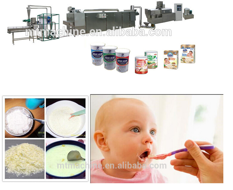 Baby Food Extruder Machinery
