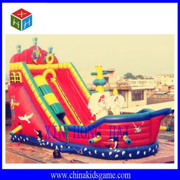 New design Christmas gift inflatable castle