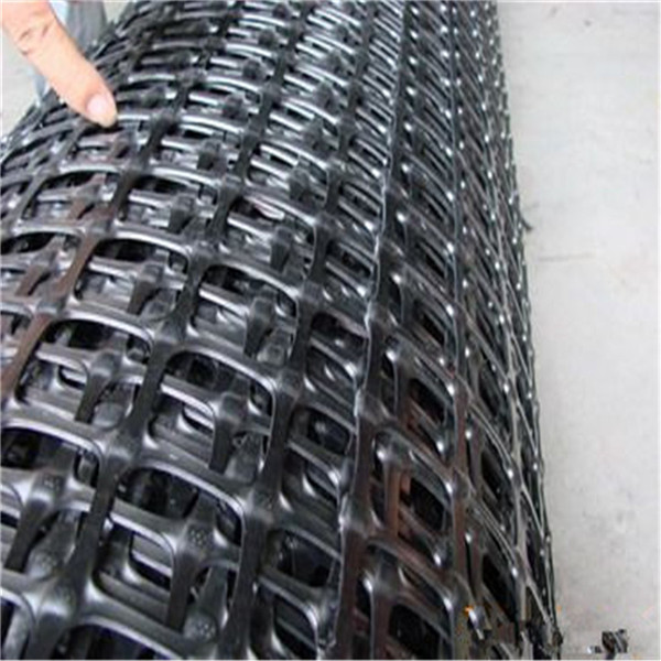 PP Biaxial Geogrid For Slope Stabilization by sincere factory