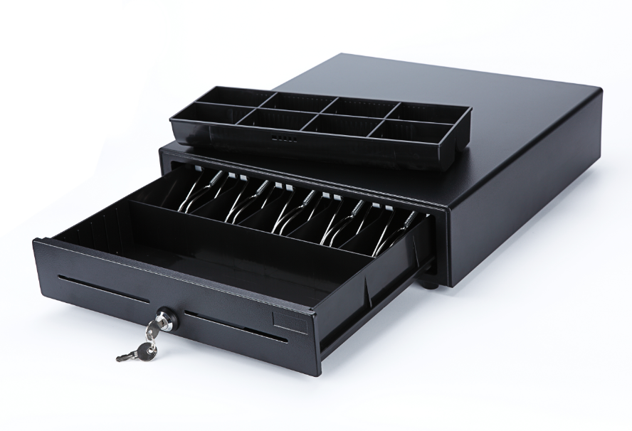 M-415 Cash Register Drawer with Cable for Receipt Printers