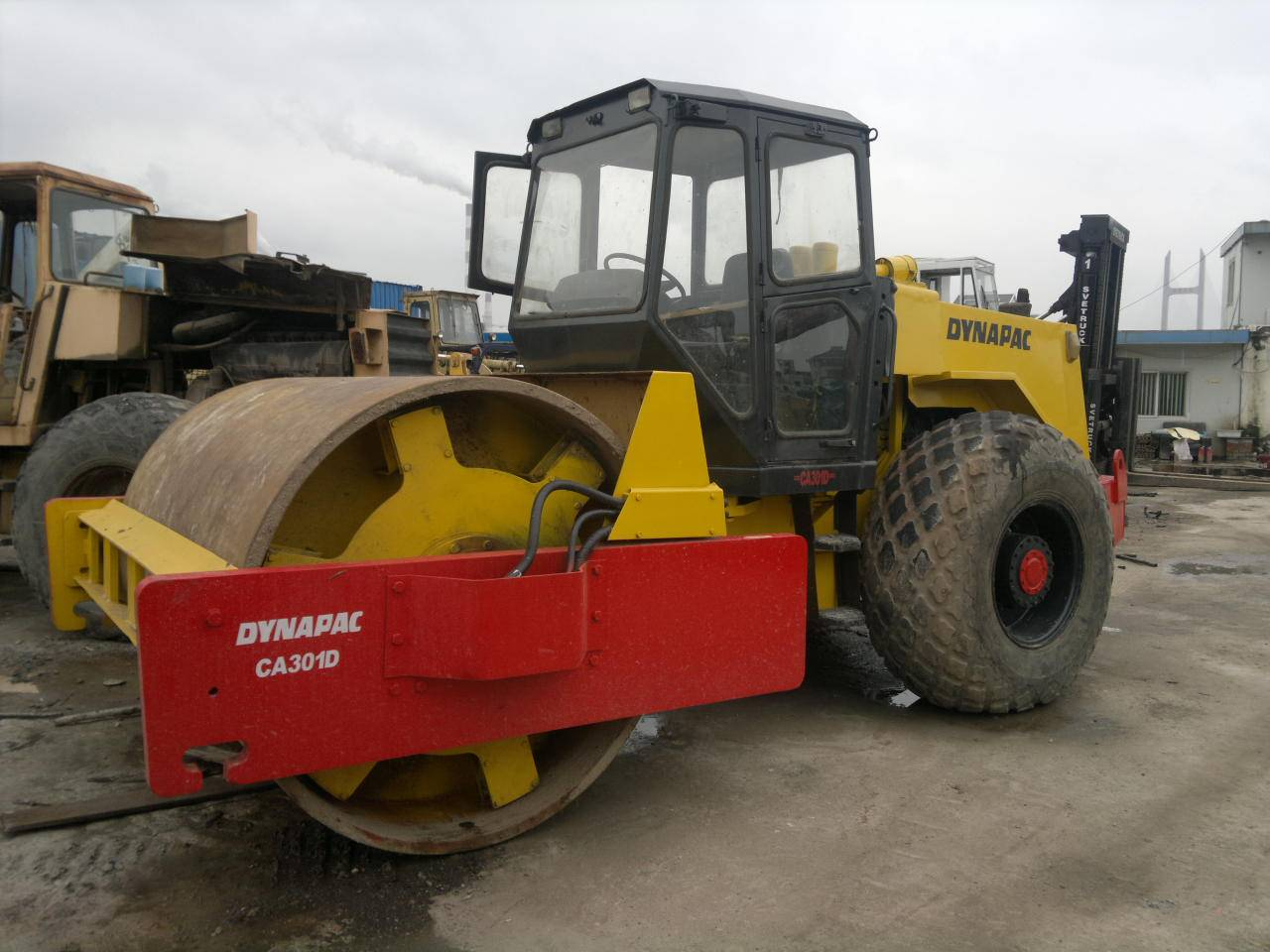 Used Single Drum Road Roller Dynapac CA30D