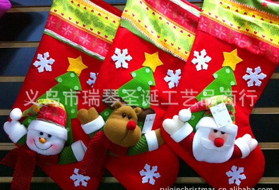 christmas socks GIFT santa claus