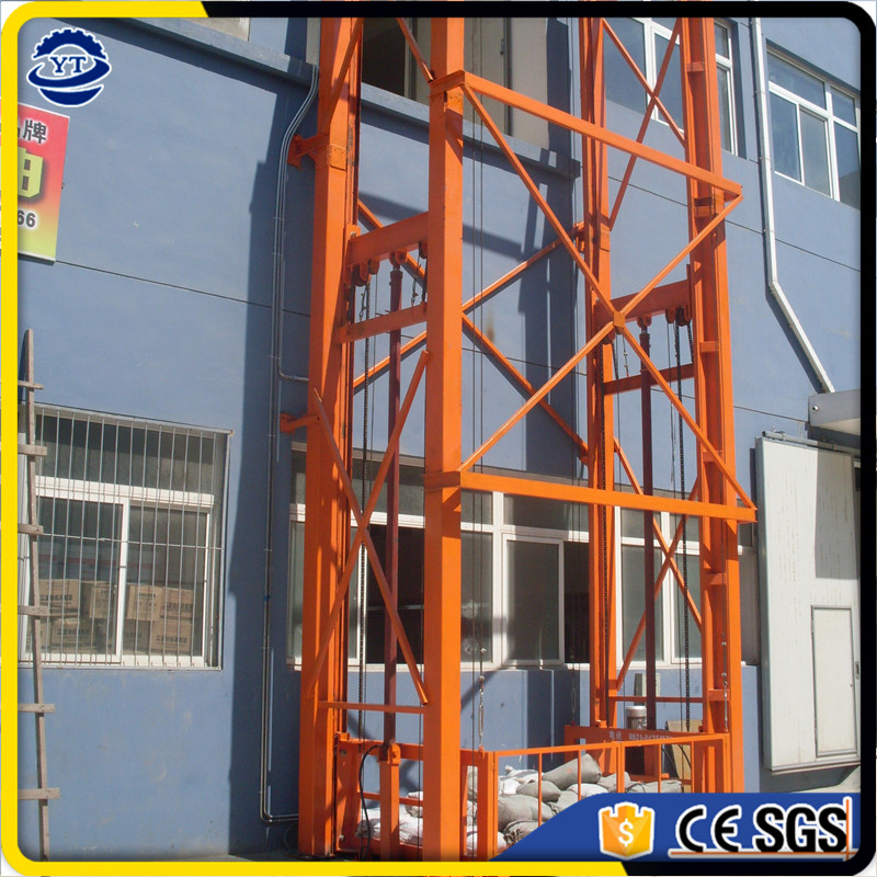 hot sale china hydraulic warehouse cargo lift, freight goods elevator