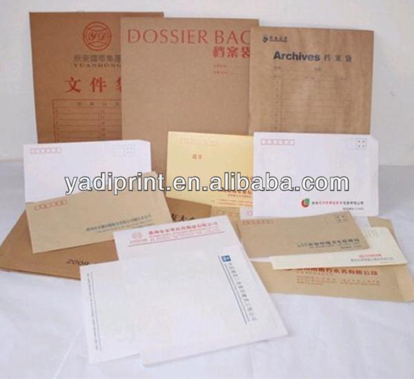 Paper Envelop Printing kraft paper