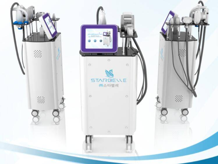 Multi-Function Beauty Salon Equipment Vacuum RF Shock Wave Therapy Equipment
