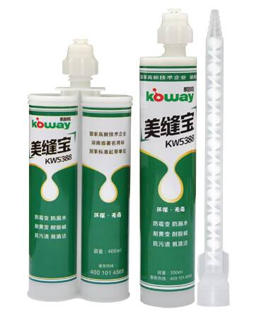 Epoxy grout for ceramic tiles, mosaic