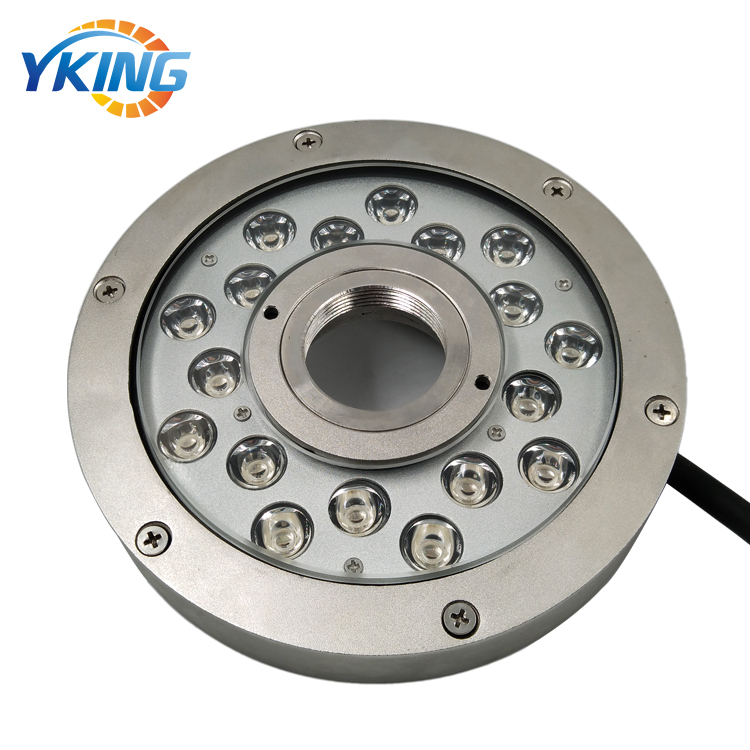 316L Stainless Steel 54W RGB Underwater LED Fountain Lights