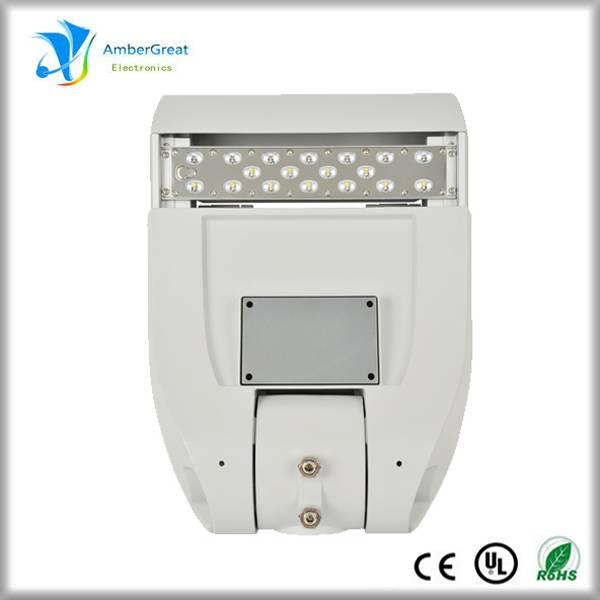 30W Solar LED Street Lights with Radar Motion Sensor