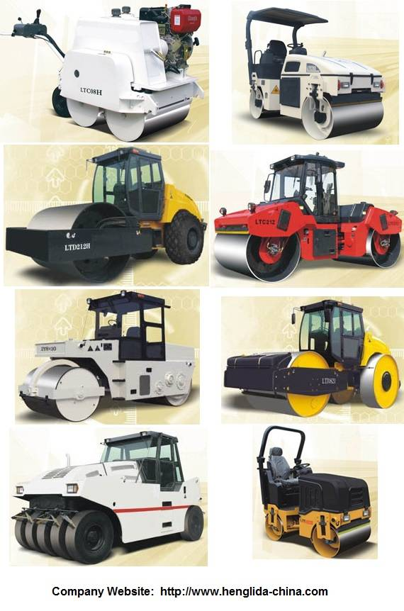 Vibratory / Static Road Roller (CE)