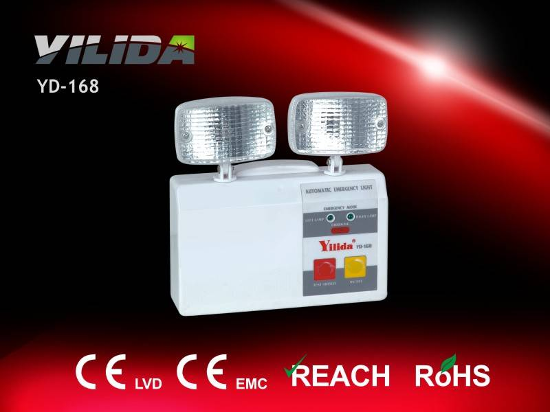 Mini 5mm Width Emergency Twin Spot Light, Easy to Carry