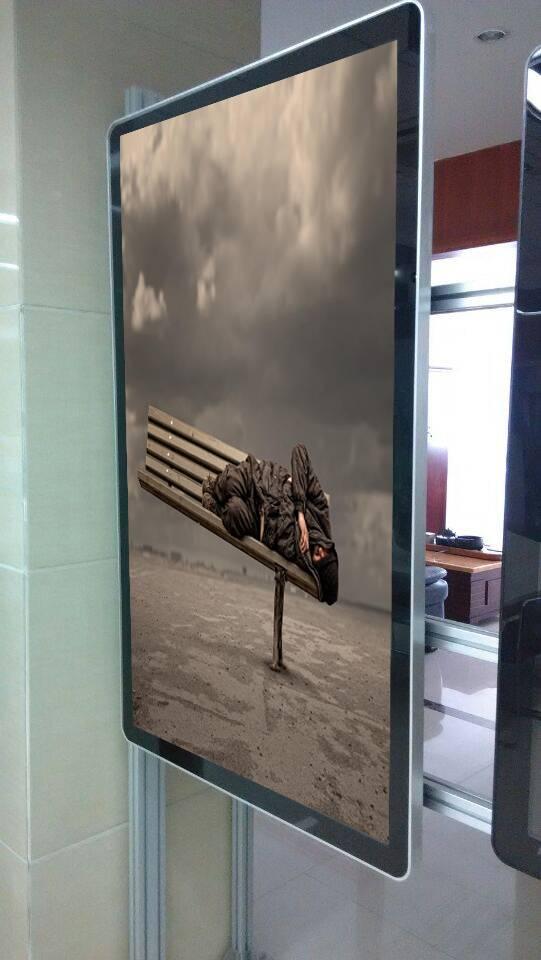 55inch vertical LCD advertising display