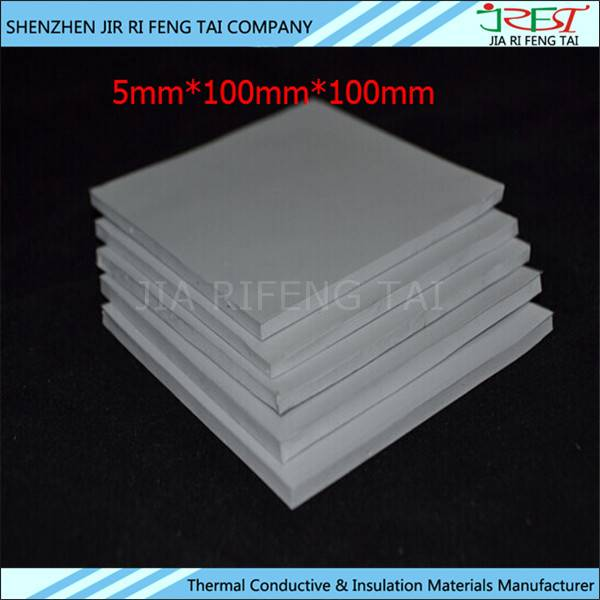 20shore A PM260 low thermal resistance insulation silicone gap pad