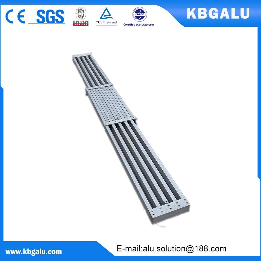 Aluminum extending plank 9A,13A,16A