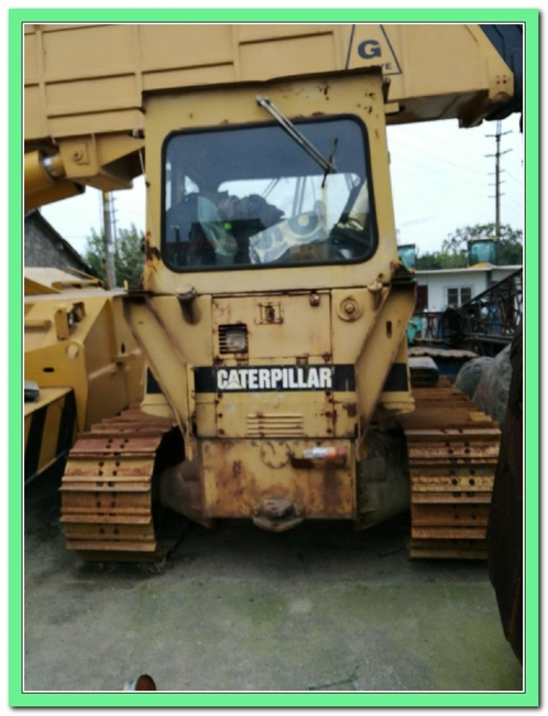 USED CATERPILLAR CRAWLER BULLDOZER D3C BUILDING FOR HOT SALE