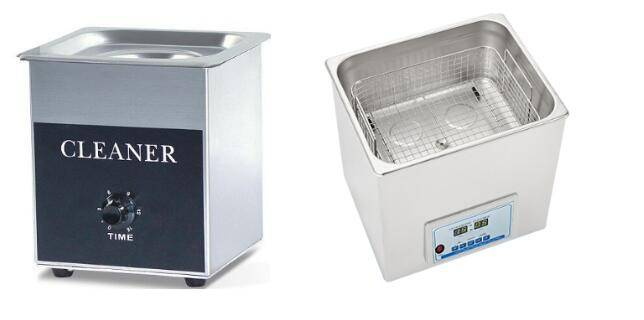 New Stainless Steel Ultrasonic Cleaner Timer Lab Ultrasonic Washer