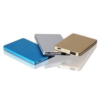 PT-158 3000mAh Thin Metal Card Power Bank
