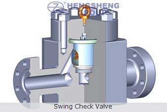 API Flanged Swing Check Valve