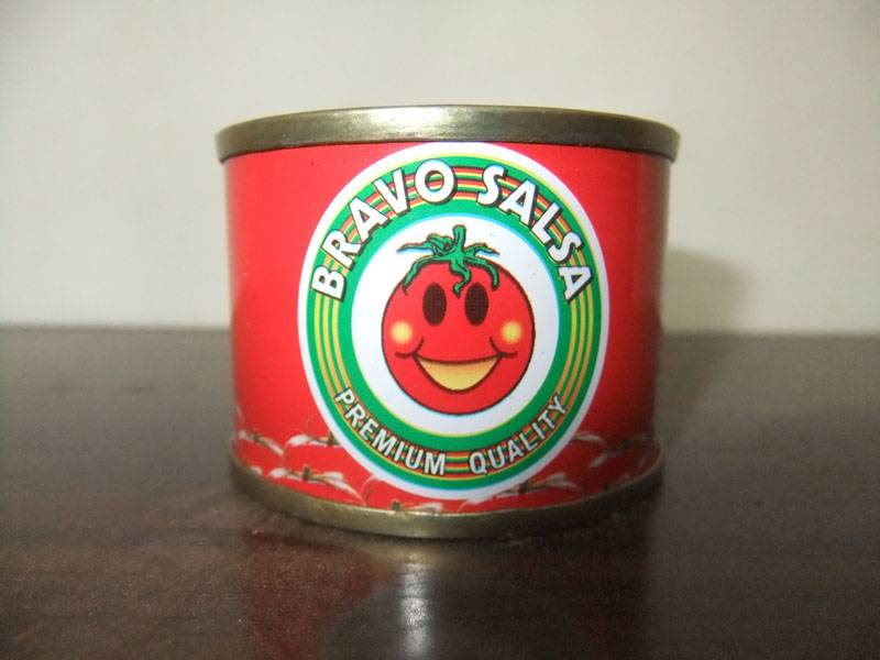70g canned tomato paste in tin 28-30% cold break